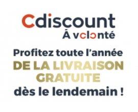 Cdiscount: L'abonnement Cdiscount à volonté à 9€ au lieu de 29€