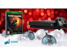 NRJ Games: Une console Xbox One X  + le jeu Shadow Of The Tomb Raider à gagner