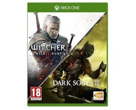 Base.com: Jeux Xbox One Dark Souls III + The Witcher 3 Wild Hunt Compilation à 23,66€