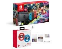 Cdiscount: Pack Console Nintendo Switch Mario Kart 8 Deluxe + 2 Volants + Etui de rangement cartouche à 309,99€