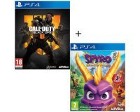 Cdiscount: Pack 2 jeux PS4 : Call of Duty Black OPS 4 + Spyro Reignited Trilogy à 60,99€