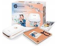 Cdiscount: Imprimante photo de poche HP Sprocket + 1 Pack de Papiers Zink + 1 Album Scrapbook à 119,99€