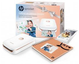 Cdiscount: Imprimante photo de poche HP Sprocket + 1 Pack de Papiers Zink + 1 Album Scrapbook à 119,99€