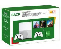 Fnac: Pack Xbox One S 1 To + 2e manette + 3 jeux Battlefield + Fallout 76 + Forza Horizon 4 à 249,99€
