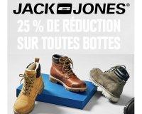 JACK & JONES: 25% de réduction sur toutes les bottes