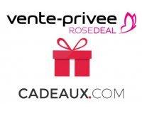 Vente Privée: [Rosedeal] Payez 30€ le bon d'achat Cadeaux.com de 60€ (ou 15€ pour 30€)
