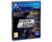 Cdiscount: Jeu PS4 Hidden Agenda à 4,83€