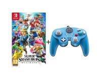 Cdiscount: Jeu Super Smash Bros Ultimate + Manette filaire PDP Super Smash Bros : Zelda pour Switch à 69,99€