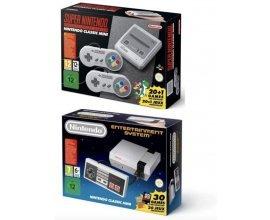 Cdiscount: Console Nintendo Classic Mini NES + Nintendo Classic Mini Super Nintendo à 120,11€