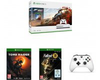 Amazon: Xbox One S 1 To + 2e manette + 7 jeux (dont Forza Horizon 4, Tomb Raider, Halo 5...) à 249,99€