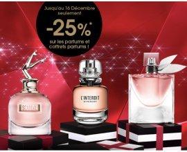 Sephora: 25% de réduction sur tous les parfums et coffrets parfums