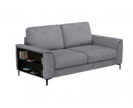 Conforama: Canapé fixe 3 places BRENT coloris gris à 299€