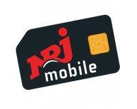 NRJ Mobile: Forfait mobile sans engagement Appels, SMS et MMS illimités + 100Go d'Internet à 9,99€/mois