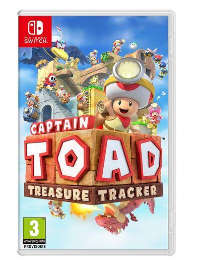 Code promo Amazon : Jeu Nintendo Switch Captain Toad Treasure Tracker à 27,92€