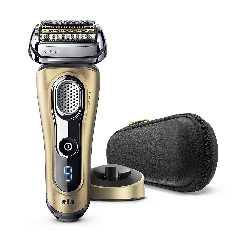 Code promo Amazon : Rasoir électrique Braun, base de recharge et pochette de voyage en solde à 271.65€ au lieu de 499€