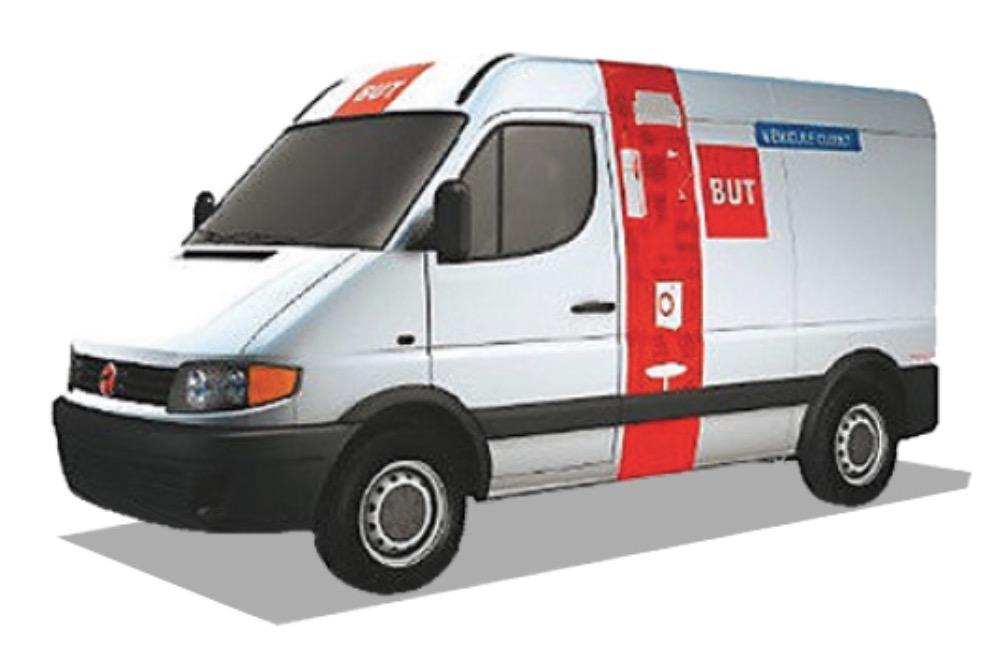 Code promo BUT : [Carte BUT] Prêt d'une camionnette gratuite pendant 1h le week-end et 2h en semaine dès 300€ d'achat