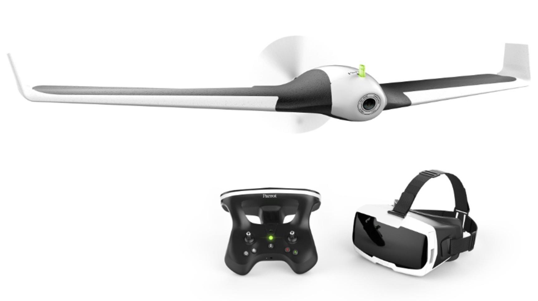 Code promo Darty : Drone Parrot Disco FPV + lunettes Immersion + radiocommande à 249,99€ (+30€ offerts en carte cadeau)