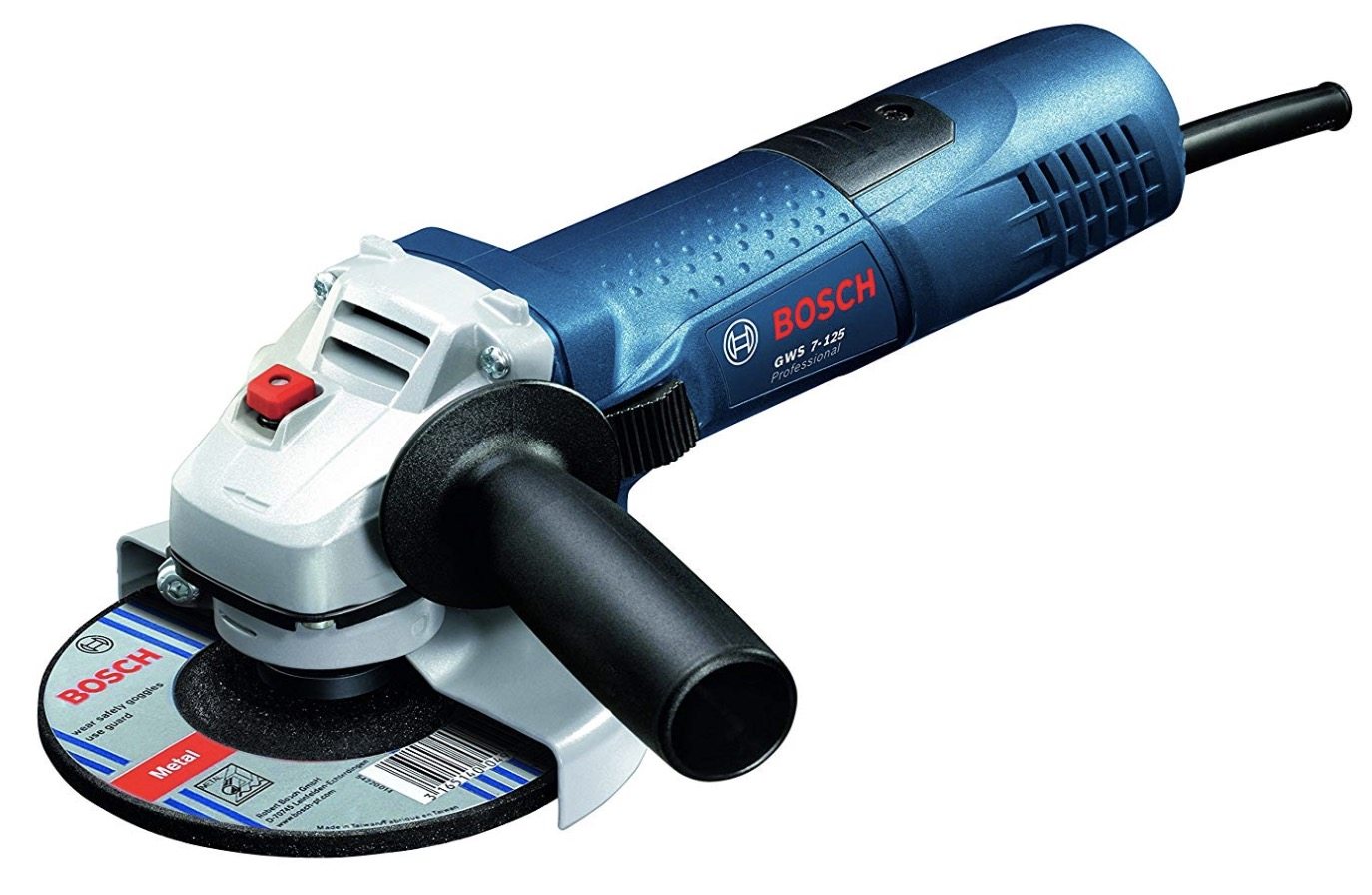 Code promo Amazon : Meuleuse Angulaire Bosch Professional GWS 7-125 à 66,90€