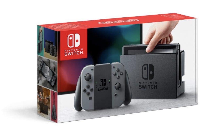 Code promo Amazon : Console Nintendo Switch avec Joy-Con Gris ou Néon à 269,99€ au lieu de 299,99€