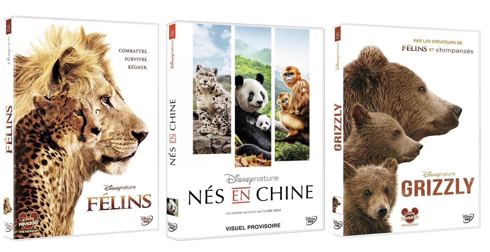 Code promo Amazon : 1 DVD ou Blu-ray Disneynature acheté = 1 offert