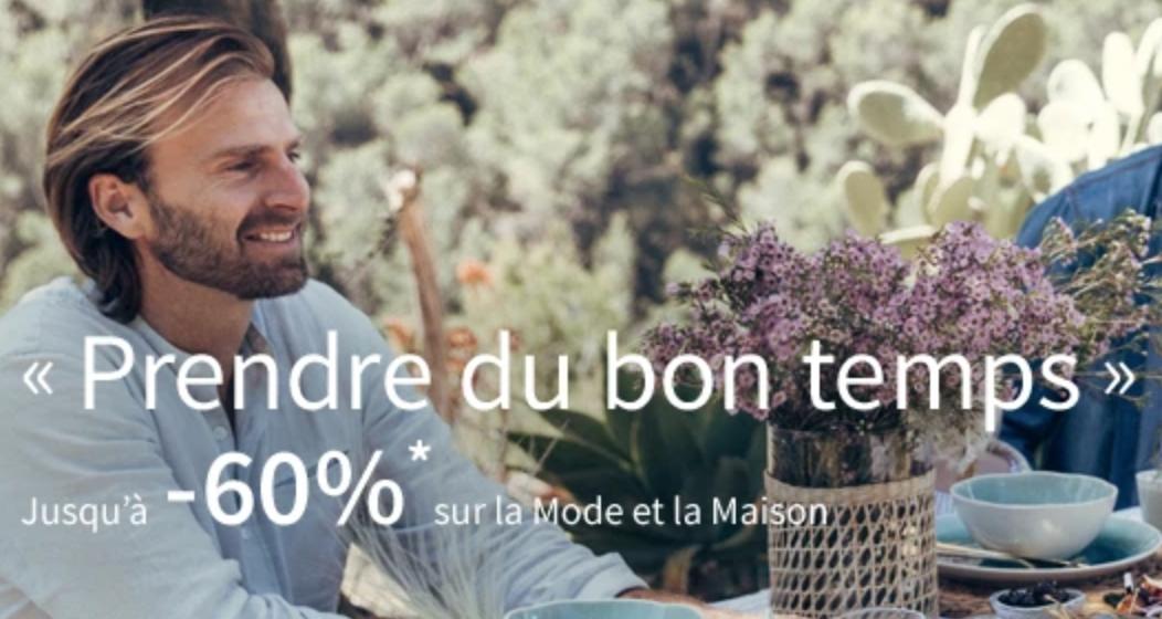 Code promo La Redoute : Jusqu'à 60% de réduction sur la mode et la maison