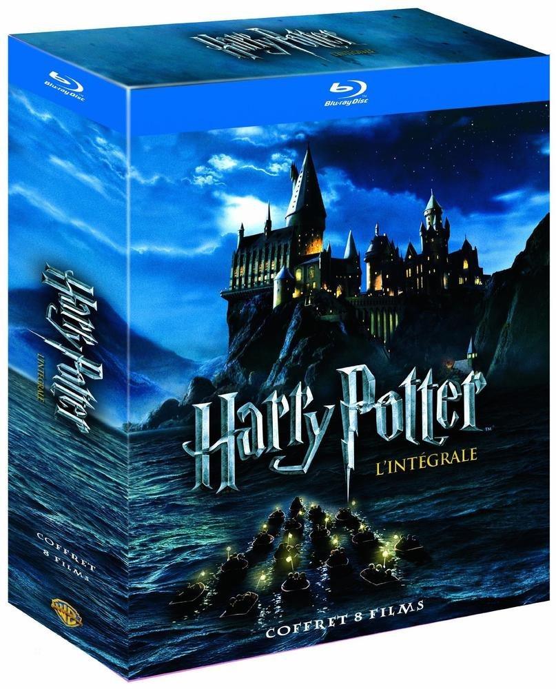 Code promo Amazon : Coffret Blu-Ray Harry Potter l'intégrale des 8 films à 22,04€ au lieu de 40,13€