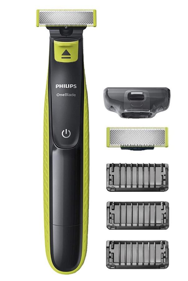 Code promo Amazon : Rasoir Philips QP2520/30 OneBlade avec lame de rechange + 3 sabots barbe à 19,99€