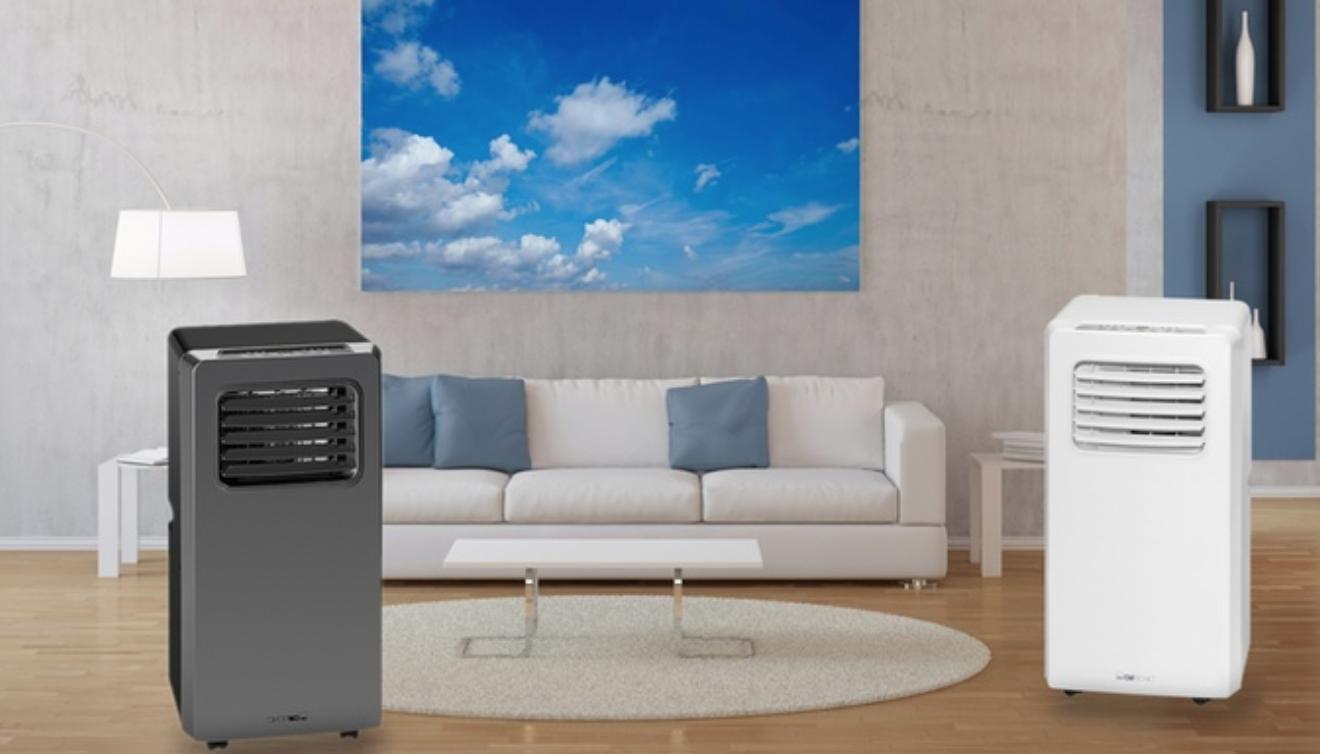Code promo Groupon : Jusqu'à 55% de réduction sur les climatiseurs Mobile 7000 ou 8000 BTU Clatronic
