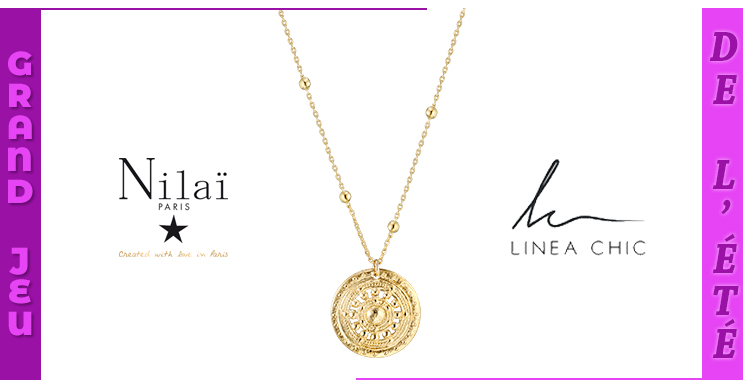 Code promo Femme Actuelle : Tentez de gagner 30 colliers Nilaï Paris d'une valeur unitaire de 65€