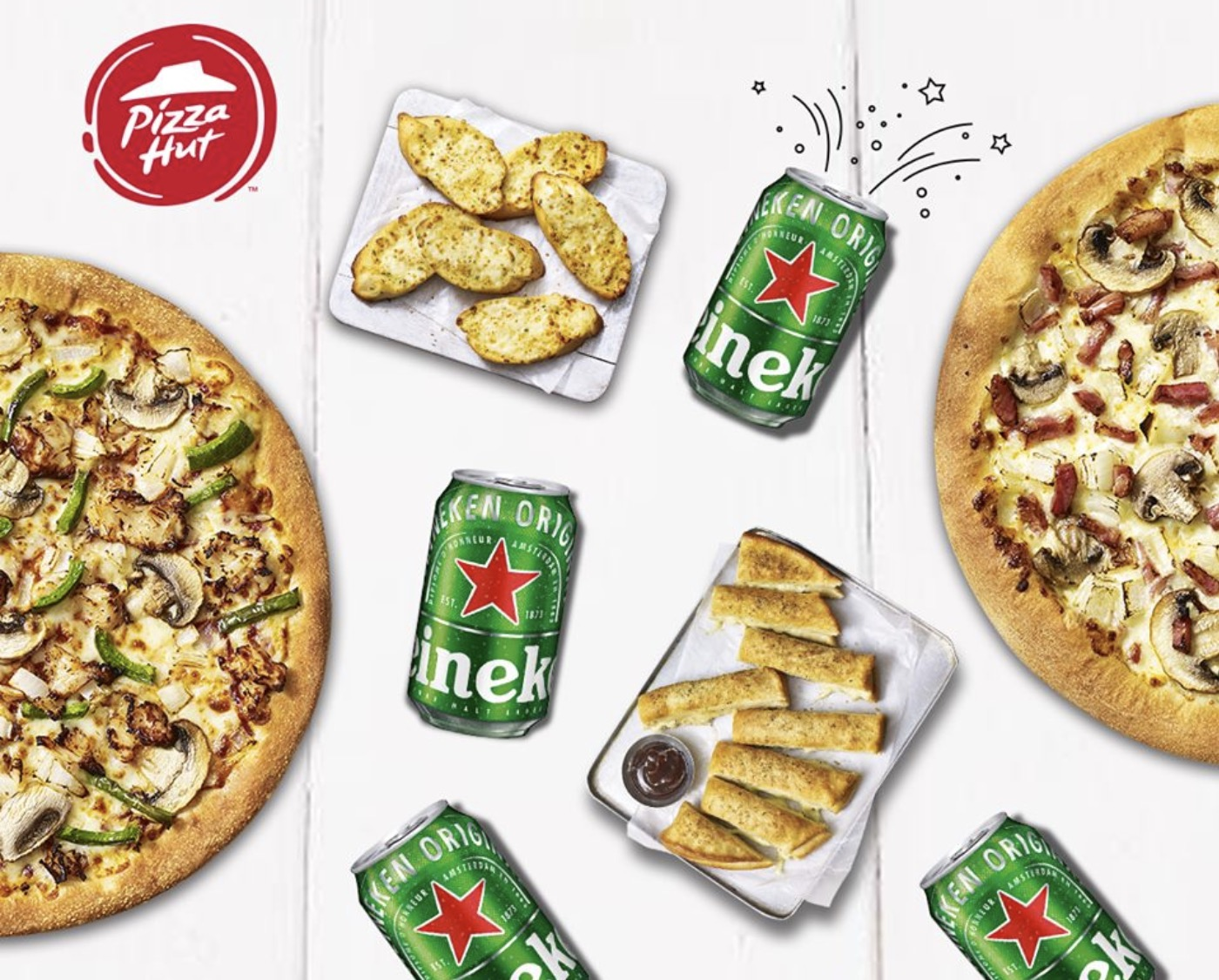 Code promo Pizza Hut : 1 an de Pizzas Pizza Hut à gagner