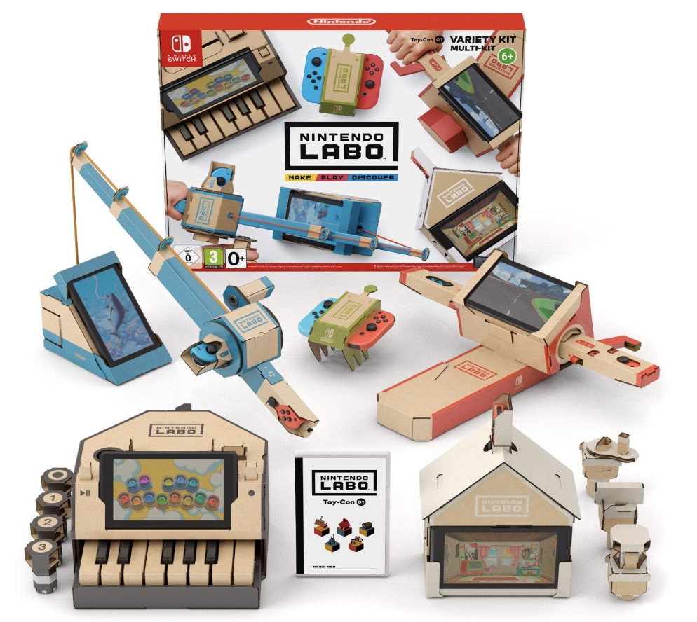 Code promo Cdiscount : Nintendo Labo - Toy-Con 01 - Multi Kit à 9,99€ au lieu de 69,99€