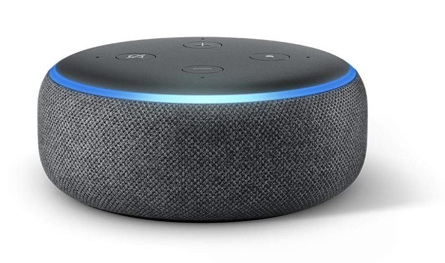 Code promo Boulanger :  Enceinte connectée Echo Dot (3ème génération) à 24.99€