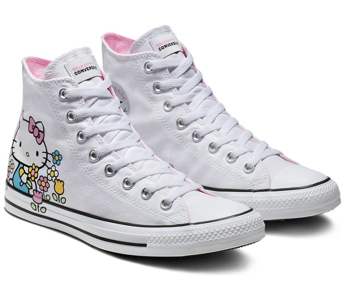 Code promo Converse : Converse x Hello Kitty Chuck Taylor All Star High-Top à 29,99€