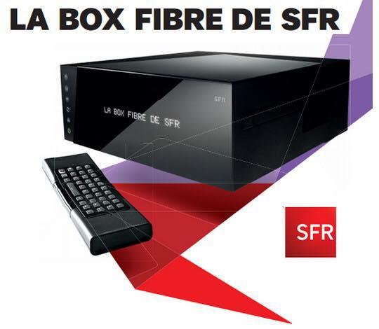 Code promo SFR : Box SFR Fibre (400Mb/s ↓ et 400Mb/s ↑) + 160 chaînes et appels illimités à 15€ par mois pendant 1 an