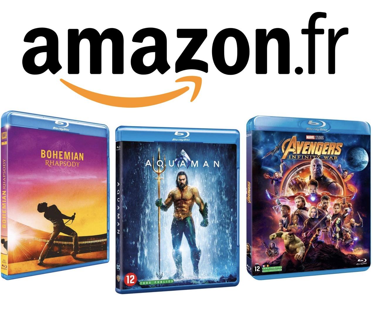 Code promo Amazon : 2 Blu-ray achetés = le 3e offert parmi plus de 4800 titres différents