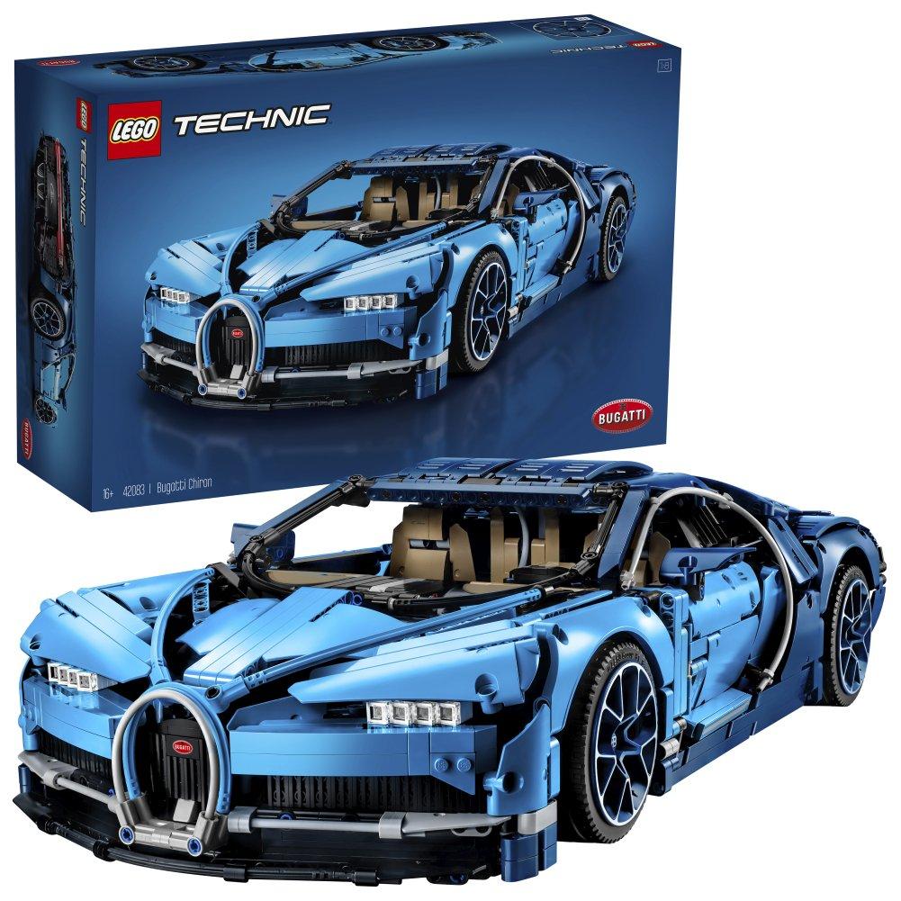 Code promo Amazon : LEGO Technic 42083 Bugatti Chiron à 229,99€