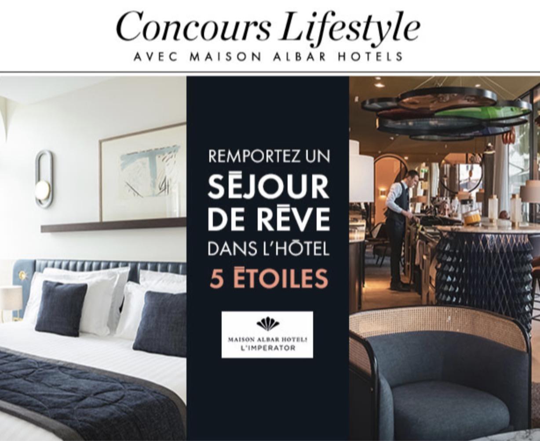 Code promo Elle : Un séjour d'exception pour 2 personnes à l'hôtel 5 étoiles L'Impérator à Nimes