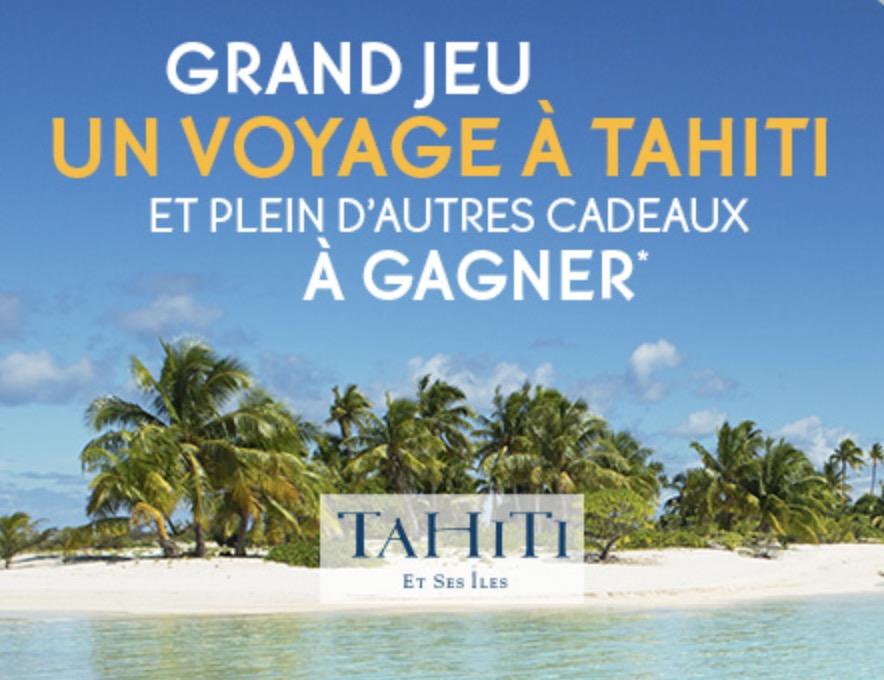 Code promo Yves Rocher : 1 voyage à Tahiti et de nombreux produits de beauté à gagner