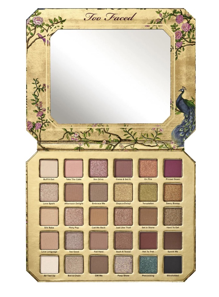 Code promo Sephora : Palette de fards à paupières Too Faced Natural Lust Eye à 41,30€