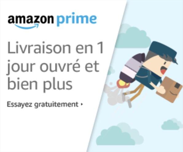 Code promo Amazon : 30 jours d'essai gratuit à Amazon Prime