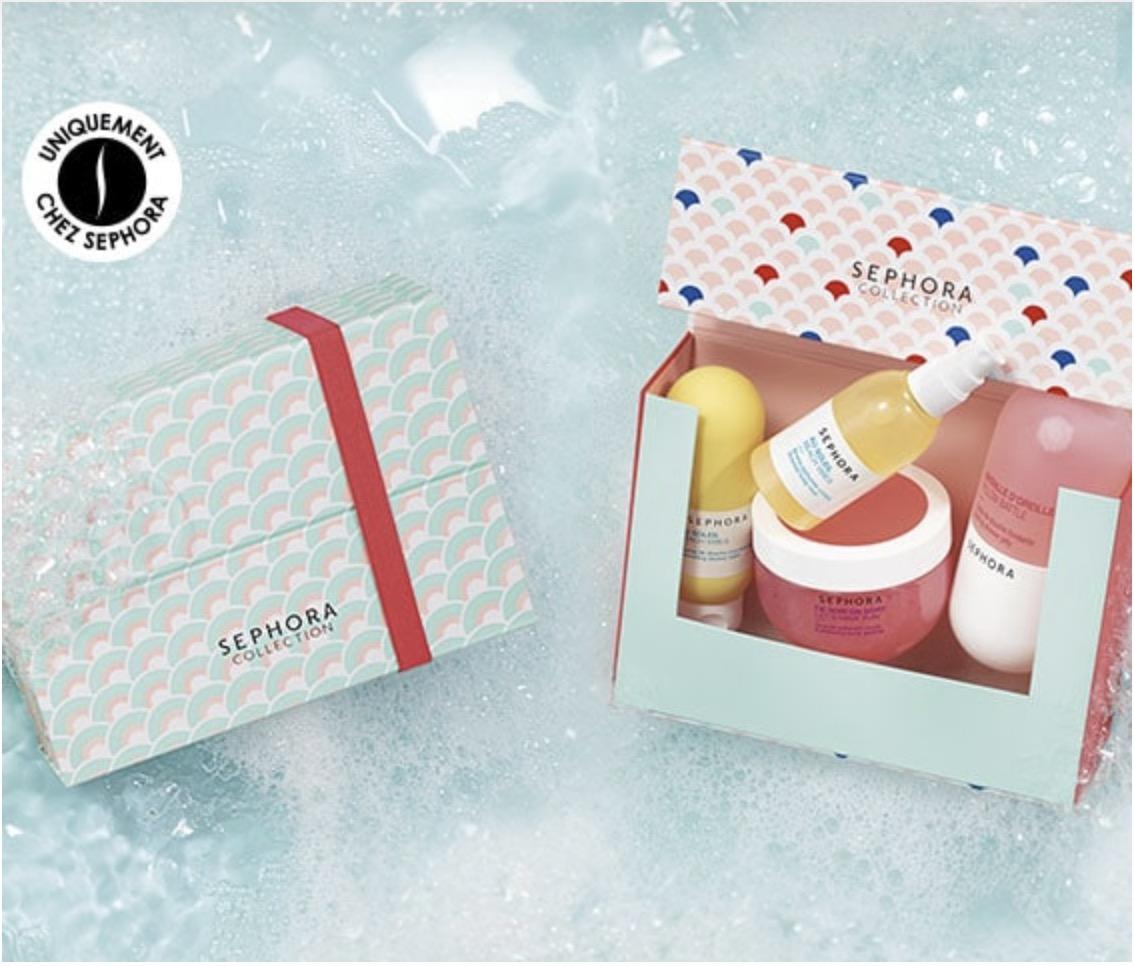 Code promo Sephora : 2 produits Sephora Collection pour le bain acheté = le 3ème offert