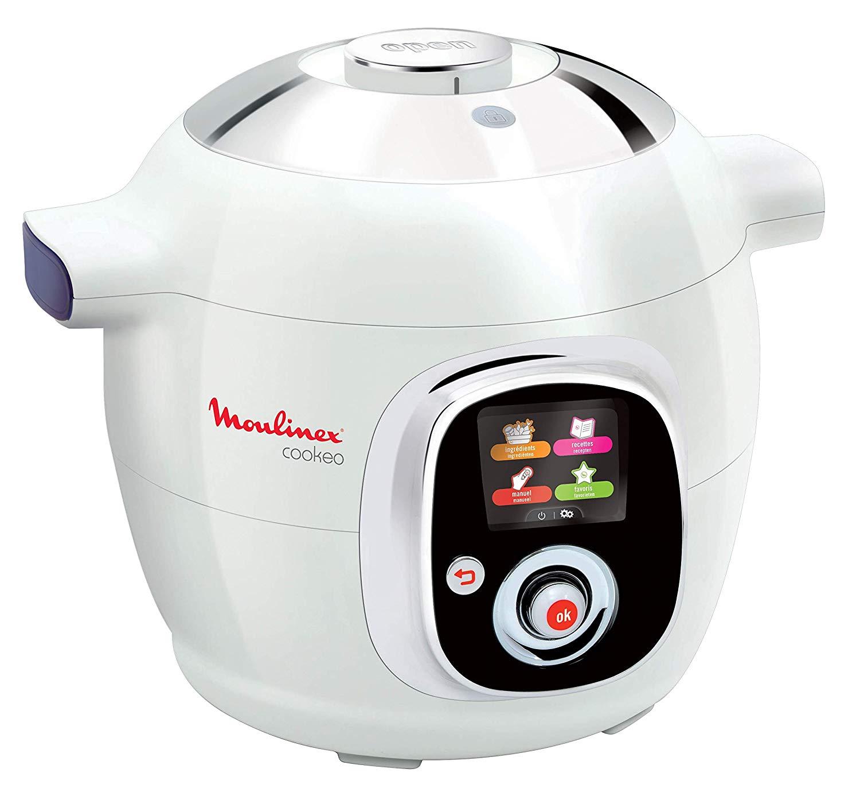 Code promo Amazon : Multicuiseur Cookeo Moulinex CE704110 à 161,59€
