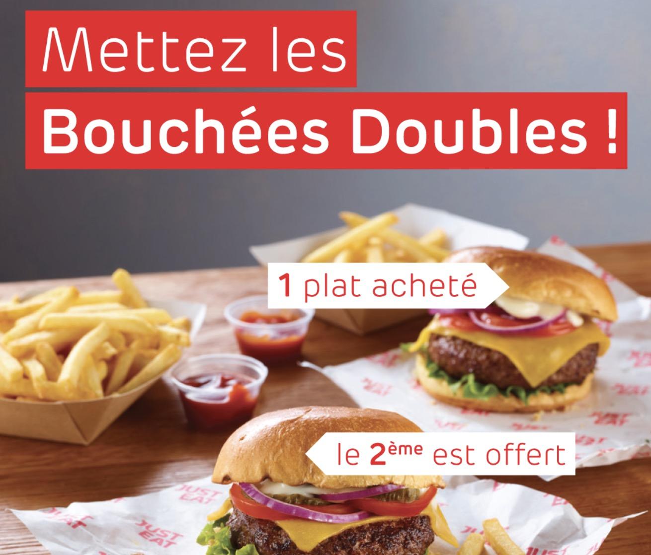 Code promo Just Eat (Allo Resto) : 1 plat acheté = 1 plat offert sur une sélection de restaurants