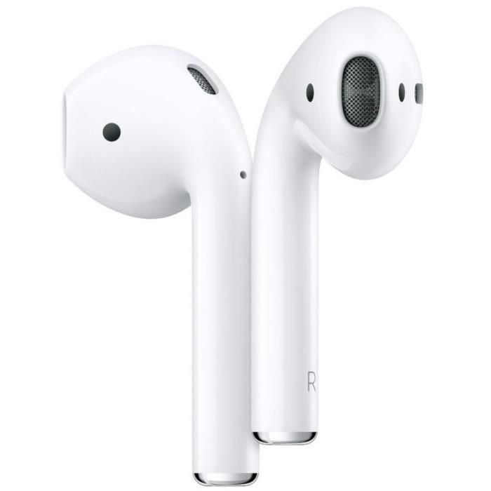 Code promo Cdiscount : Écouteurs sans fil Apple AirPods 2 avec étui de charge filaire à 125,99€