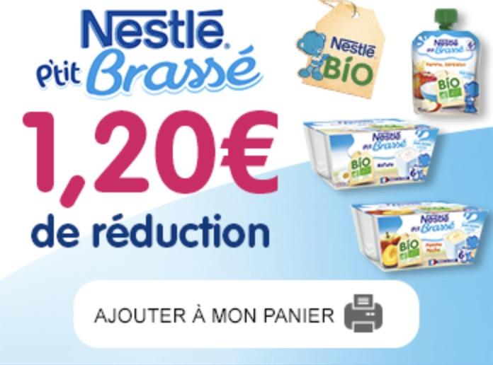 Code promo Nestlé : Coupons Nestlé Bébé à imprimer : jusqu'à 2€ de réduction sur la nourriture pour bébé