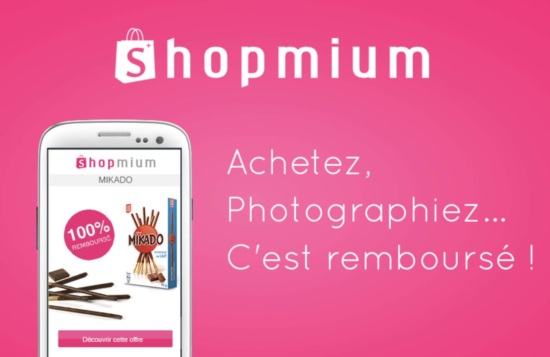 Code promo Shopmium : Shopmium, l'application mobile qui vous rembourse une partie de vos courses