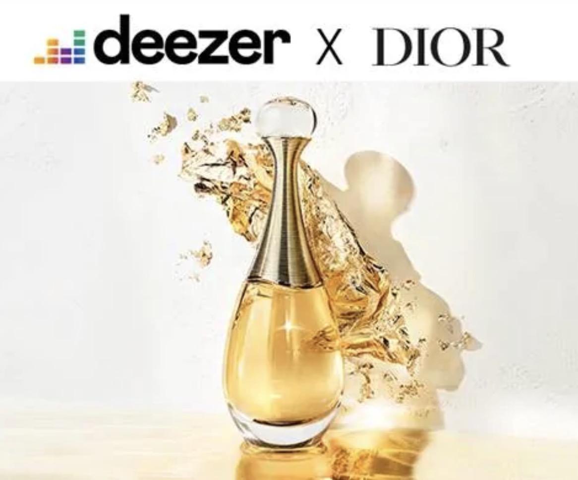 Code promo Sephora : 2 mois d'abonnement Deezer Premium. offerts dès l'achat d'une eau de parfum Dior J'adore