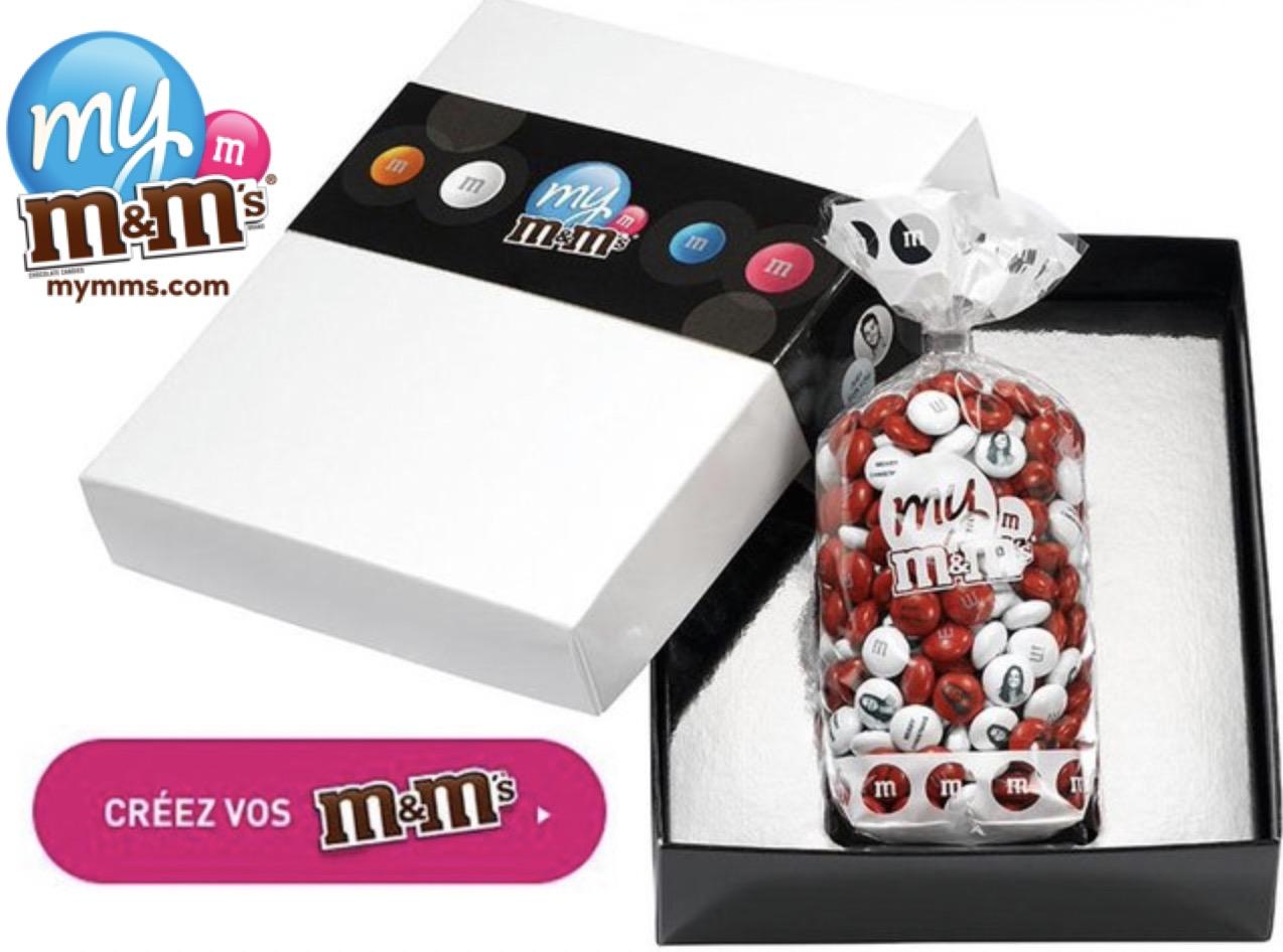 Code promo Groupon : M&M's personnalisés : Payez 50€ le bon d'achat My M&M's de 100€ (ou 30€ pour 60€ ou 20€ pour 40€)