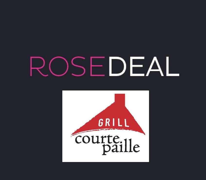 Code promo Veepee : Rosedeal Courtepaille : payez 1€ pour 10€ de bon d'achat