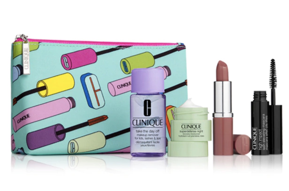 Code promo Clinique : 4 mini produits de beauté incontournables offerts dès 65€ d'achat